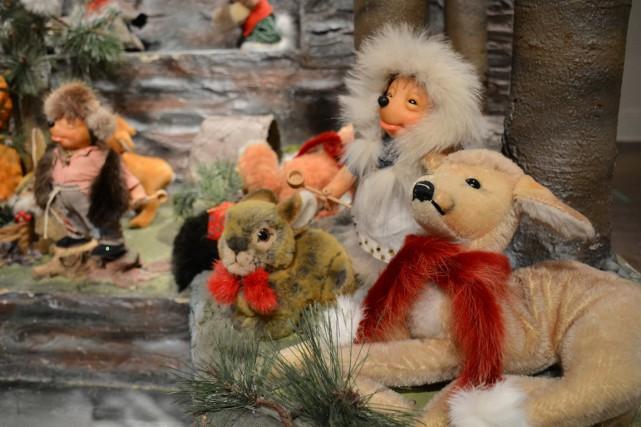 Ça y est, la traditionnelle vitrine de Noël de La Maison Ogilvy a été inaugurée... (PHOTO FOURNIE PAR OGILVY)