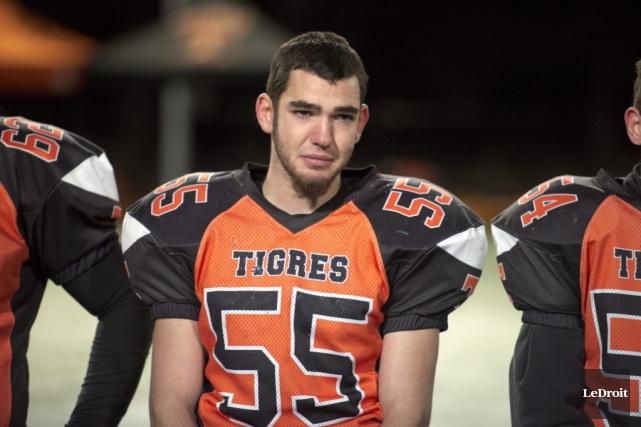 Pour une deuxième année consécutive, les Tigres juvéniles de l'école secondaire... (Martin Roy, LeDroit)