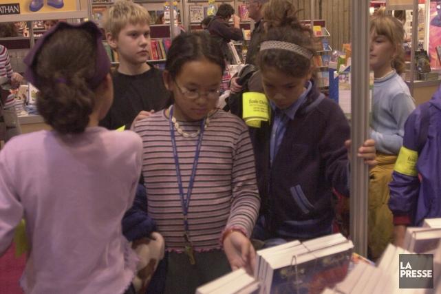 Chaque année, 18 000 écoliers peuvent rencontrer les... (Photo: Robert Nadon, archives La Presse)