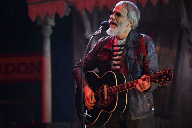 Cat Stevens en spectacle à Londres le 5... (Photo: archives AFP)