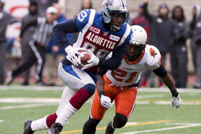Les Alouettes de Montréal n'ont laissé aucune chance aux pauvres Lions de la... (Photo PC)