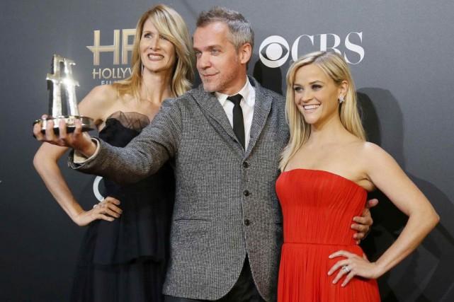Le réalisateur Jean-Marc Vallée entouré des actrices Laura... (Photo: Reuters)