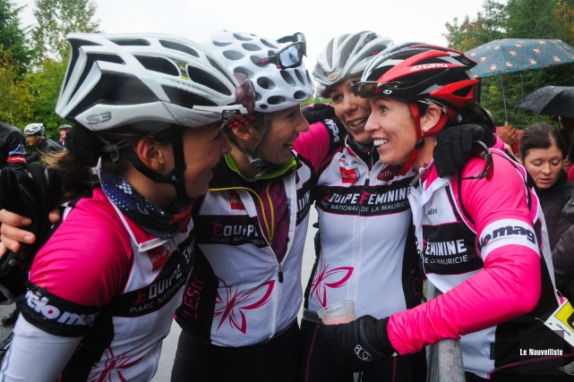 L'équipe féminine des Défis du parc est présentement... (Photo: François Gervais, Le Nouvelliste)