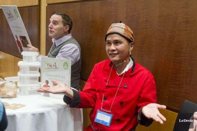 Sam Nettavong de Sam Cuisine Thaï a présenté... (Martin Roy, LeDroit)