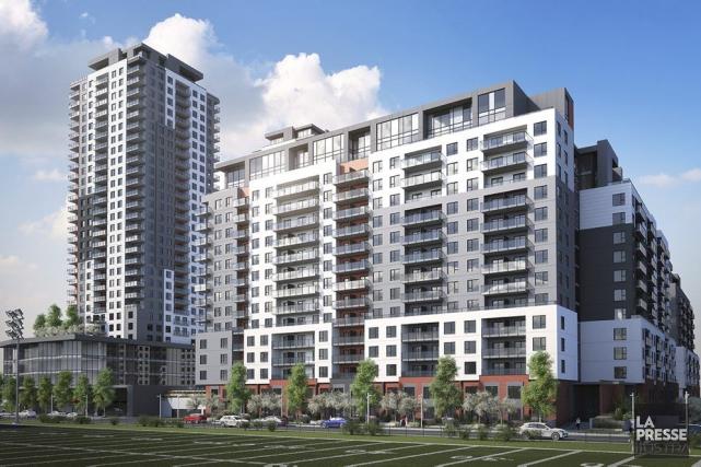 Projet immobilier Urbania II à Laval.... (Photo fournie par la FTQ)