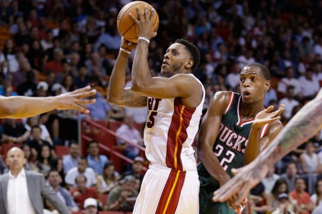 Le Heat de Miami a subi une troisième défaite d'affilée en s'inclinant 91-84... (Photo Wilfredo Lee, AP)