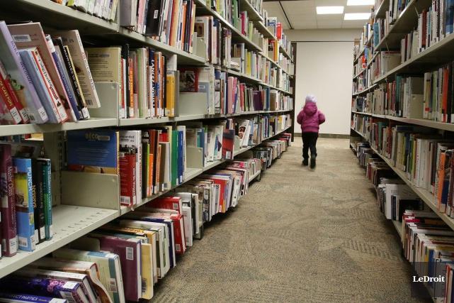 L'an dernier, la Bibliothèque publique d'Ottawa a prêté... (Patrick Woodbury, LeDroit)