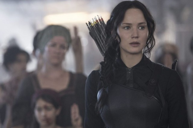 Katniss Everdeen (Jennifer Lawrence)... (Photo: fournie par Lionsgate/Séville)