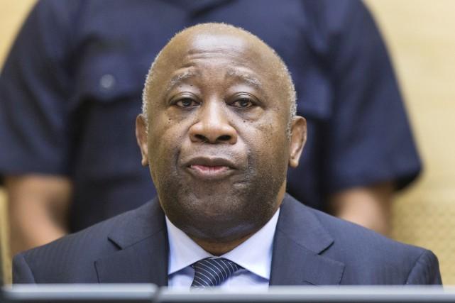 Laurent Gbagbo, 70 ans, est accusé d'avoir fomenté... (PHOTO MICHAEL KOOREN, ARCHIVES AFP/ANP)