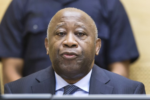 Laurent Gbagbo est écroué à la prison de... (PHOTO MICHAEL KOOREN, ARCHIVES AFP/ANP)