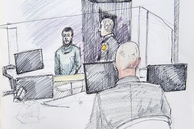 La publication de certains éléments de preuve présentés au tribunal lors des... (Illustration Carol Taylor, PC)