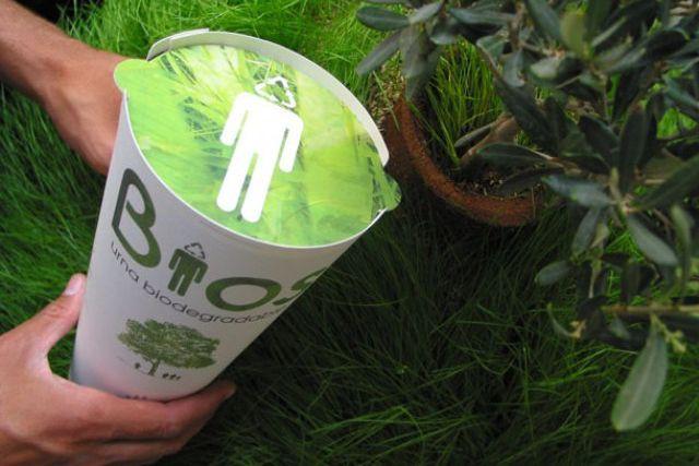 Urna Bios Québec propose un contenant qui, en... (Photo fournie par Urna Bios Québec)