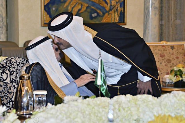 L'émir du Qatar Tamim ben Hamad Al Thani... (PHOTO ARCHIVES REUTERS)