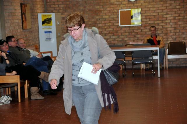 Yvonne Hamel a été reconnue coupable de vols... (Photo collaboration spéciale Éric Beaupré)
