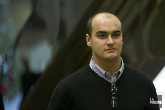 Guillaume Tremblay, l'un des trois ex-accusés.... (Photo Olivier Jean, Archives La Presse)