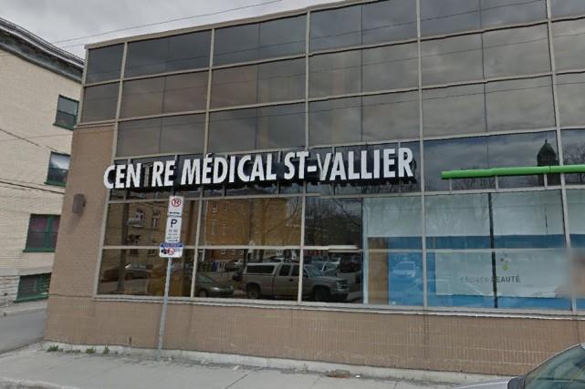La clinique Saint-Vallier, sur la rue Montmagny à... (Image tirée de Google Street View)