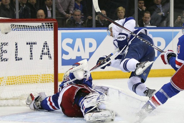Steven Stamkos a récolté un but et deux passes, lundi, aidant le Lightning de... (Photo: Reuters)