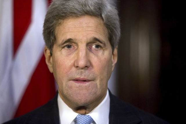 John Kerry... (PHOTO MATT DUNHAM, AGENCE FRANCE-PRESSE)