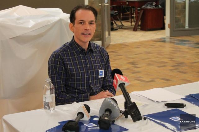 L'instigateur du mouvement Carré Bleu et de la pétition contre la démolition du... (Archives La Tribune)