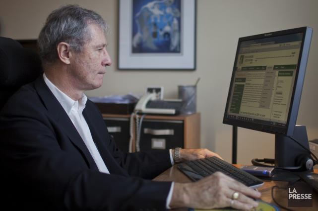 Marc Ryan est le fondateur du site Investisseurautonome.info.... (PHOTO ÉDOUARD PLANTE-FRÉCHETTE, LA PRESSE)