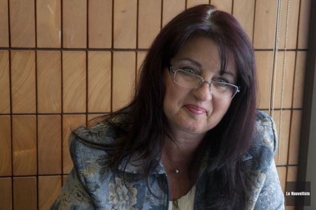 La mairesse de Batiscan, Sonya Auclair.... (Photo: Stéphane Lessard, Le Nouvelliste)
