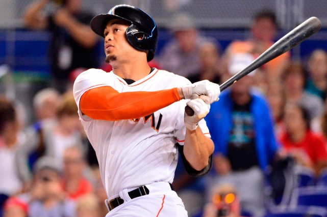 Giancarlo Stanton... (Photo Steve Mitchell, USA Today Sports)