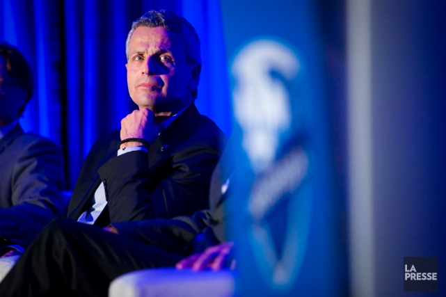 L'entraîneur-chef de l'Impact, Frank Klopas, a dû se... (Photo André Pichette, La Presse)
