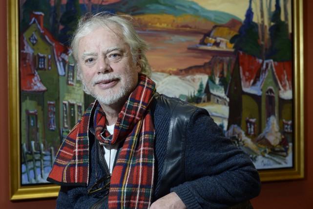 Le peintre trifluvien Normand Boisvert a temporairement installé... (Photo: Sylvain Mayer, Le Nouvelliste)