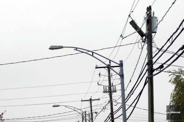 Des clients d'Hydro ont manqué d'électricité ce matin... (Archives La Tribune)