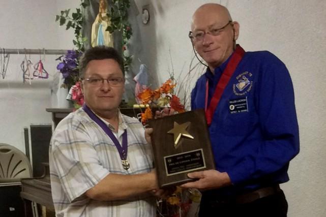 Les Chevaliers de Colomb de Hawkesbury ont reçu le prestigieux prix duConseil... (Courtoisie)