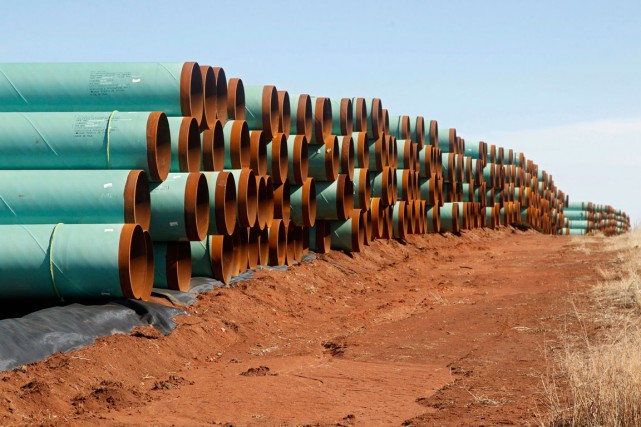 TransCanada, rappelons-le, veut construire un pipeline reliant l'Alberta... (PHOTO ARCHIVES ASSOCIATED PRESS)