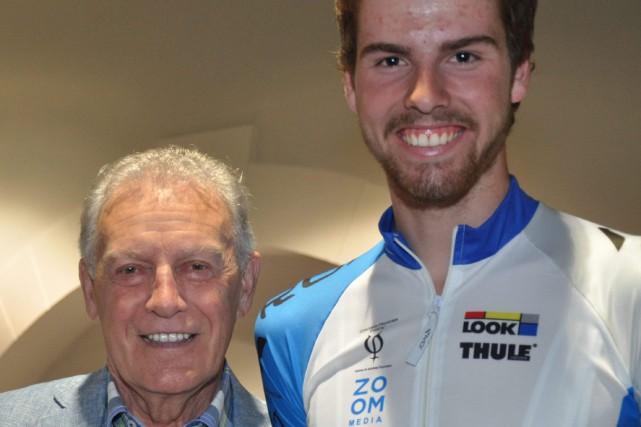Léandre Bouchard fait partie de l'élite du vélo de montagne au Canada et il... (Courtoisie Johanne Cormier)