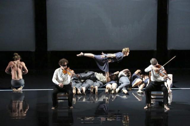 Dans Opus, les musiciens du quatuor Debussy partagent... (Photo: Justin Nicholas, fournie par Circa)