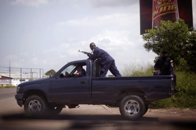 La police congolaise s'est rendue coupable de dizaines d'exécutions... (Photo Jerome Delay, AP)