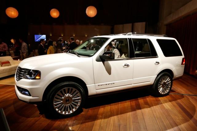 Ford cherchera à réanimer Lincoln, dont les ventes... (Photo Carlos Osorio, AP)