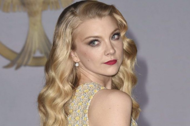 Natalie Dormer à la première de The Hunger... (Photo: AFP)