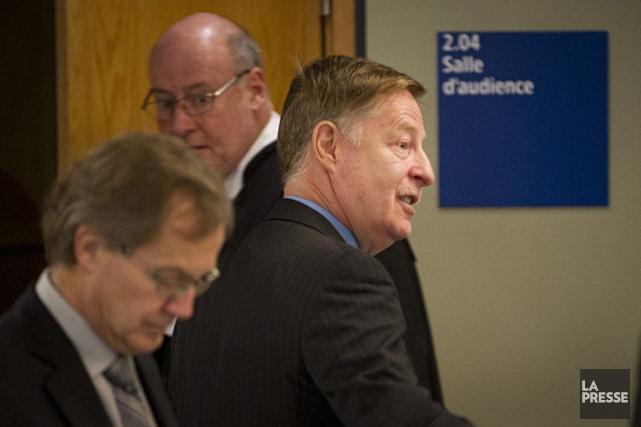 Le maire Demers a livré son témoignage lundi... (PHOTO IVANOH DEMERS, ARCHIVES LA PRESSE)