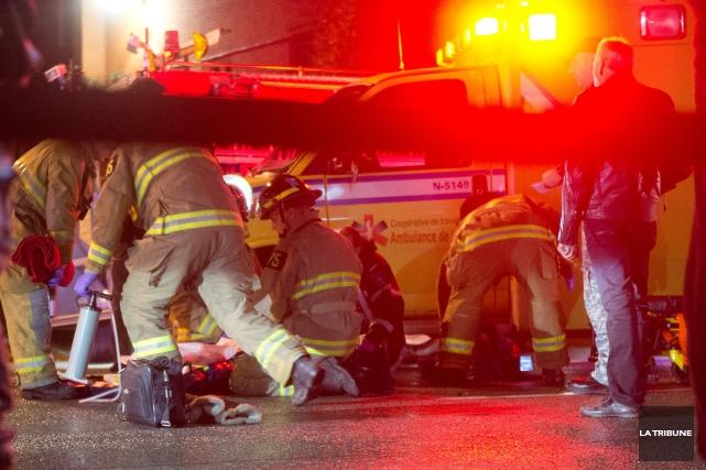 La jeune femme impliquée dans un accident de la route, lundi après-midi dans le... (Archives La Tribune)