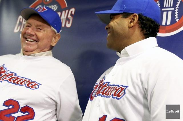Les Champions ont fait d'Hal Lanier leur gérant.... (Patrick Woodbury, LeDroit)