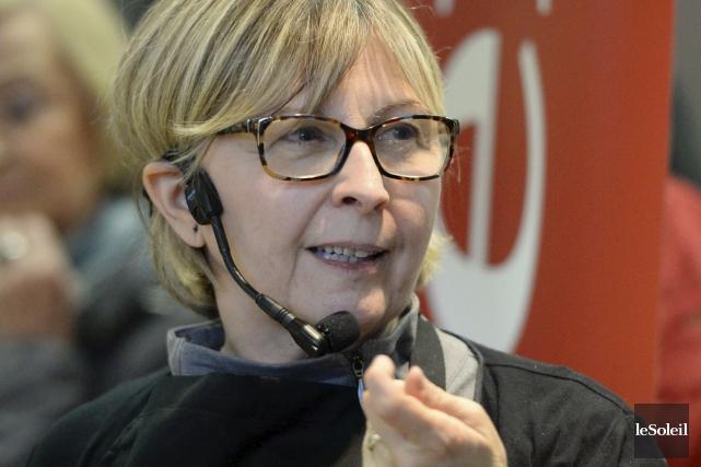 Sylvie Berthiaume... (Le Soleil, Andréanne Lemire)