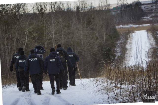 Le service de police de Sherbrooke et la... (Photo MARTIN LEBLANC, LA PRESSE)
