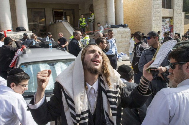L'attaque, la première contre un lieu de culte... (Photo: AFP)