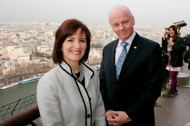 Julie Bergevin et Gaétan Migneault, vice-présidente et président... (Photo fournie par Adèle)