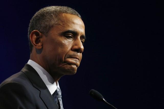 En choisissant la voie réglementaire, Barack Obama s'expose... (Photo: Reuters)