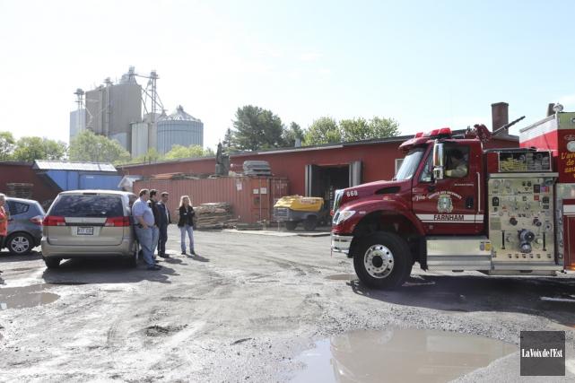 À Farham, les pompiers ont répondu à 126appels... (photo archives La Voix de l'Est)