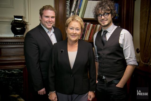 L'ex-première ministre Pauline Marois sera présidente d'honneur des... (PHOTO DAVID BOILY, LA PRESSE)