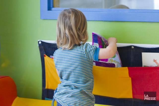 L'Association québécoise des centres de la petite enfanceestime... (Photothèque La Presse)