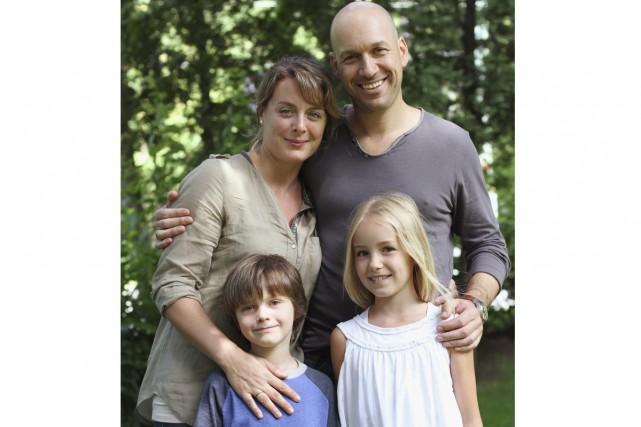 Martin Matte et sa famille de l'émission Les... (Photo: fournie par TVA)