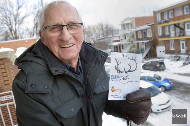 Aujourd'hui âgé de 80 ans, Claude Albert est... (Le Soleil, Jean-Marie Villeneuve)