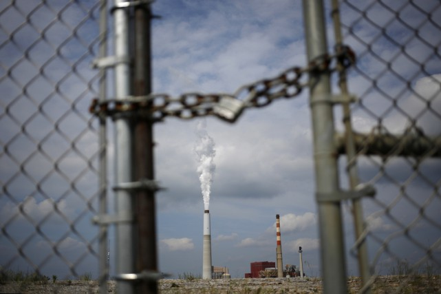 La Chine, premier émetteur de gaz à effet... (PHOTO LUKE SHARRETT, THE NEW YORK TIMES)
